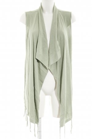 Tom Tailor Knitted Vest lime-green Boho look