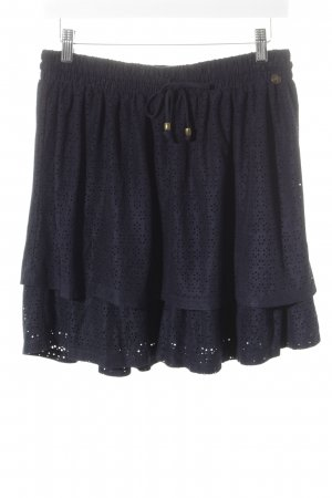 Tom Tailor Broomstick Skirt dark blue romantic style