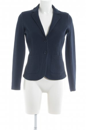 Tom Tailor Blazer sweat blu scuro stile professionale