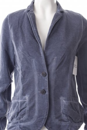 Tom Tailor Sweatblazer graublau Washed-Optik