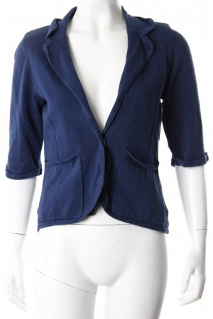 Tom Tailor Sweatblazer kurz dunkelblau