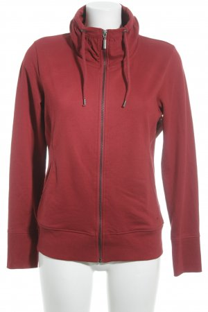 Tom Tailor Sweatjacke rot Casual-Look