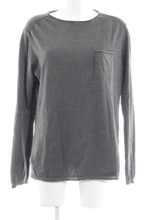 Tom Tailor Sweatshirt dunkelgrau Casual-Look