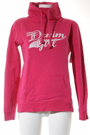 Tom Tailor Sweatshirt magenta Casual-Look