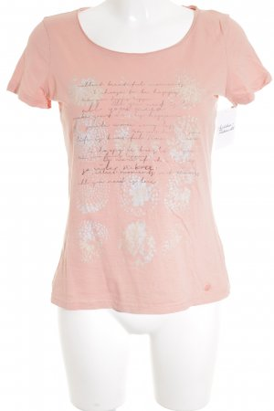 Tom Tailor T-Shirt apricot Casual-Look