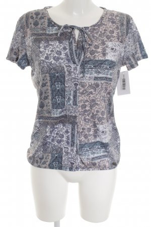 Tom Tailor T-Shirt florales Muster Casual-Look