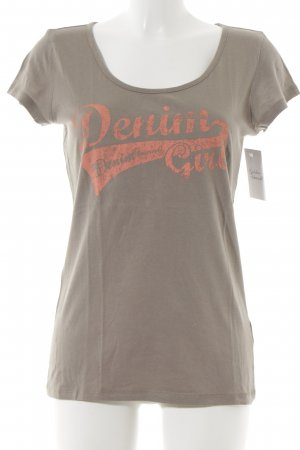 Tom Tailor T-Shirt graubraun Casual-Look
