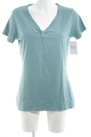 Tom Tailor T-Shirt kadettblau Casual-Look