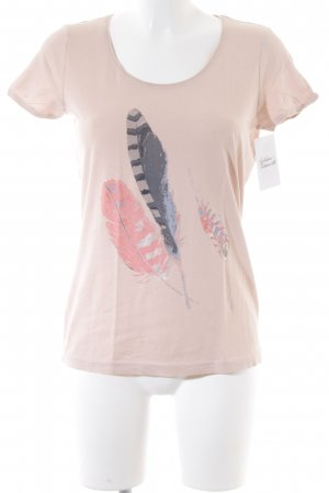 Tom Tailor T-Shirt rosé Casual-Look