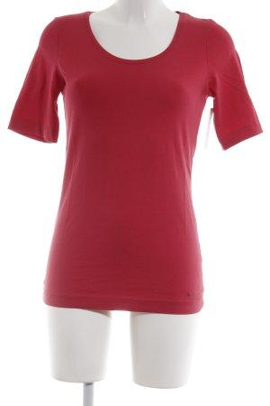 Tom Tailor T-Shirt rot sportlicher Stil