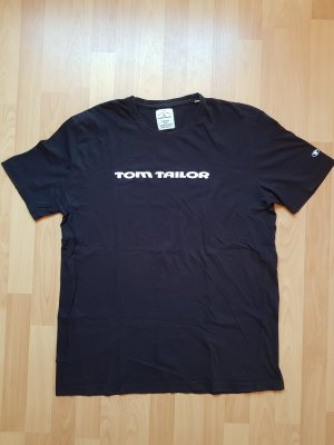 Tom Tailor T-Shirt Schwarz Basic