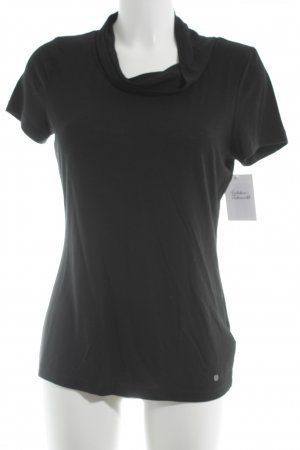 Tom Tailor T-Shirt schwarz Casual-Look