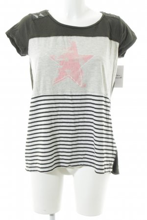 Tom Tailor T-Shirt Sternenmuster Casual-Look