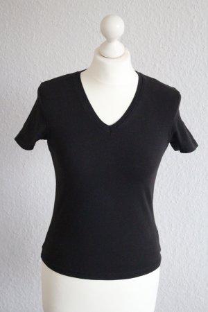 Tom Tailor T-Shirt V-Ausschnitt Stretch S/M