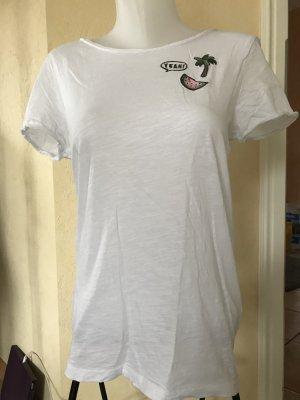 Tom Tailor T-Shirt weiß Gr S