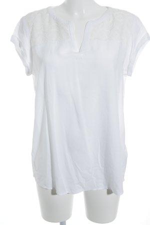 Tom Tailor T-Shirt weiß schlichter Stil