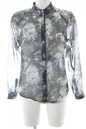 Tom Tailor Transparenz-Bluse florales Muster Business-Look