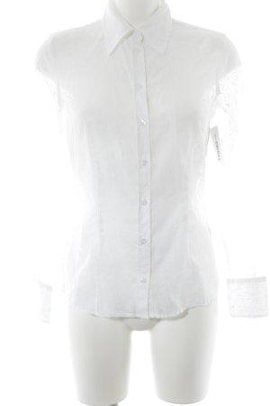 Tom Tailor Blouse transparente blanc cassé élégant