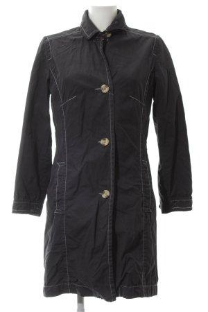 Tom Tailor Trenchcoat schwarz Casual-Look
