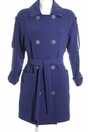 Tom Tailor Trenchcoat blau Casual-Look