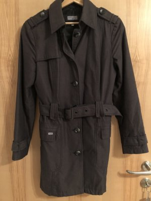 Tom Tailor Long Jacket anthracite