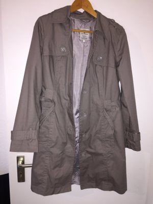 Tom Tailor Trenchcoat in grau