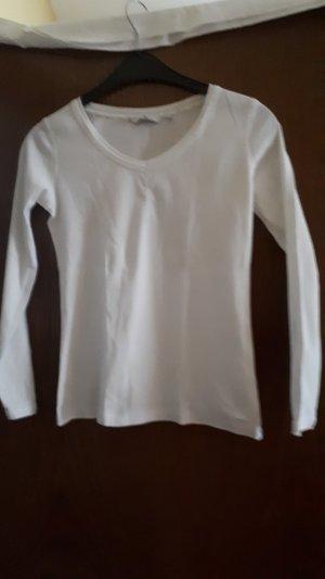 Tom Tailor T-shirt col en V blanc