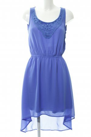 Tom Tailor Vokuhila-Kleid stahlblau Beach-Look