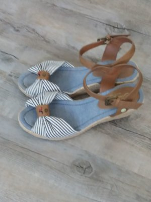 Tom Tailor Wedges Sandalette Keilabsatz 40
