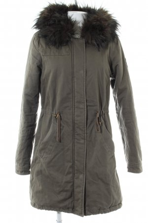 Tom Tailor Winterjacke khaki Casual-Look