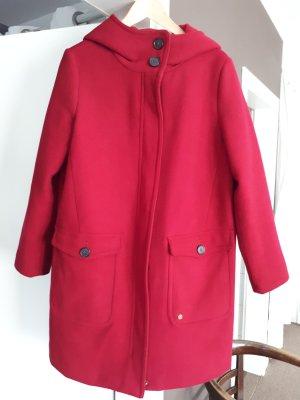 Tom Tailor Hooded Coat dark red
