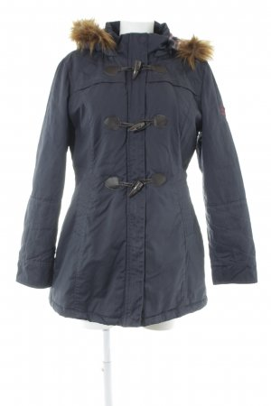 Tom Tailor Winterjacke dunkelblau Casual-Look