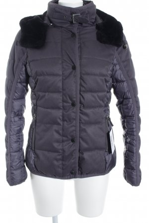 Tom Tailor Winterjacke dunkelgrau Casual-Look