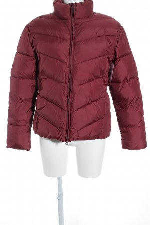 Tom Tailor Winterjacke dunkelrot Casual-Look