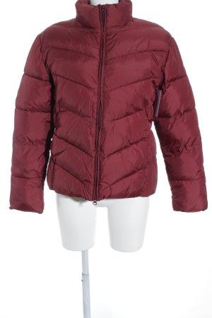 Tom Tailor Veste d'hiver rouge foncé style décontracté