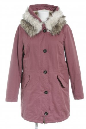 Tom Tailor Winterjacke rosa Casual-Look