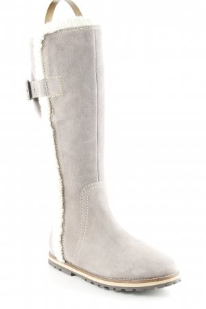 Tom Tailor Winterstiefel taupe-creme Casual-Look
