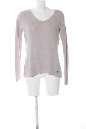 Tom Tailor Wollpullover hellgrau Casual-Look