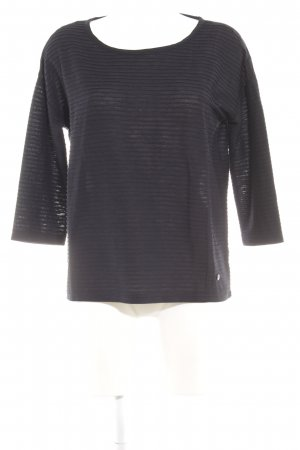 Tom Tailor Wollpullover dunkelblau Casual-Look