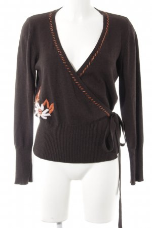 Tom Tailor Wollpullover florales Muster Casual-Look