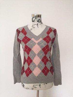 Tom Tailor Wollpullover mit Karo-Muster