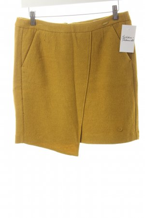 Tom Tailor Wollrock dunkelgelb Eleganz-Look