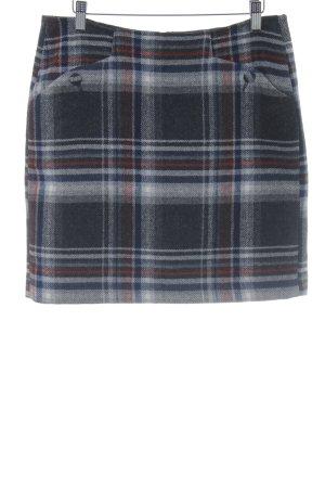 Tom Tailor Wollen rok geruite print elegant