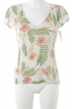 Tommy Bahama Knitted Jumper flower pattern romantic style