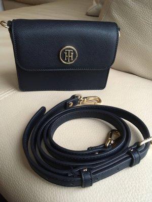 Tommy Hilfiger Mini sac bleu foncé-bleu