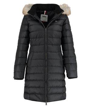 Tommy Hilfiger Hooded Coat black