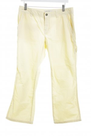 Tommy Hilfiger Pantalone a 3/4 giallo stile casual