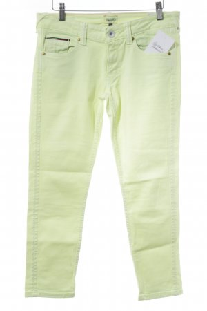 Tommy Hilfiger 3/4-Hose neongelb Casual-Look