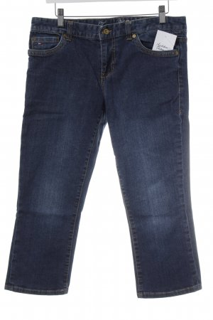 Tommy Hilfiger Jeans 3/4 bleu acier-orange clair style décontracté