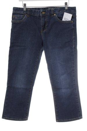 Tommy Hilfiger 3/4 Jeans stahlblau-hellorange Casual-Look